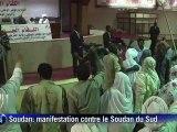 Soudan: manifestation contre le Soudan du Sud à Khartoum