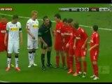 Arango anota en su partido 100 en la Bundesliga y da triunfo a su equipo
