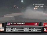 MATT WALDIN  During Qualifying for Top 32 @Formula Drift Las Vegas 2011 (second run)