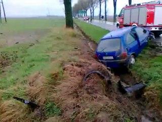 Wypadek na trasie Bojanów - Sudół