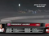 FREDRIC AASBO  During Qualifying for Top 32 @Formula Drift Las Vegas 2011 (first run)