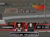 CHRIS FORSBERG  vs ALEX LEE  during qualifying for Top 16 @ Formula Drift Las Vegas 2011