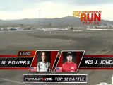 Matt Powers vs Jeff Jones during qualifying for Top 16 @ Formula Drift Las Vegas 2011