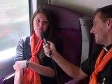 LOURDES 2012 Camille, hospitalière - 16 avril 2012