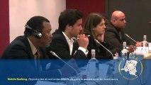 Reportage sur le FECUE volet Mobile Banking en RDC à Bruxelles