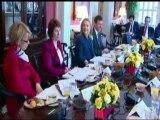 G-8 Plenary Session with Hillary Clinton
