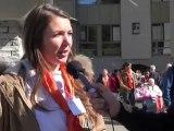 LOURDES 2012 Mardi 17 avril à Lourdes avec Camille