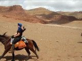 Le Maroc a Cheval - Equestrian Travel - Dades Valley Canyon - Canyon de Gorges Todra Dades tours by horseback