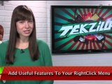 Customize Windows Right Click Menu - Tekzilla Daily Tip