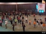 Féria de Nîmes 2012: Coulisses d'un flashmob