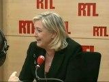 """Marine Le Pen, candidate du Front National à la Présidentielle : """"Le vote Nicolas Sarkozy est inutile"""""""