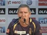 Kolkata coach Trevor Bayliss Pre match PC 18 April