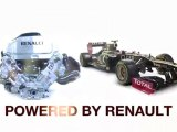 F1 2012 - Red Bull, Lotus, Williams  Caterham - Powered by Renault F1