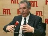 """François Bayrou, candidat du MoDem à la Présidentielle, jeudi sur RTL : """"La course des gnous vers les points d'eau est engagée"""""""