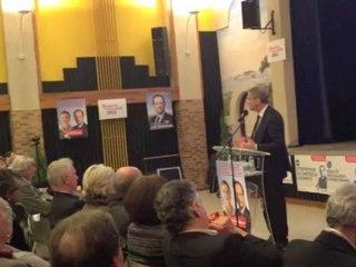 F. Deluga parle logement social et parc marin sur le Bassin