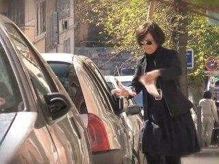 En campagne pour François Hollande avec Marie-Arlette Carlotti (Marseille)