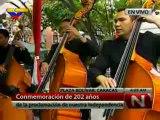 (VÍDEO) 202 años del 19 de abril  Ejecutivo Nacional rinde honores a la Bandera en la Plaza Bolívar de Caracas