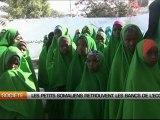 Les petits somaliens retrouvent les bancs de l'école