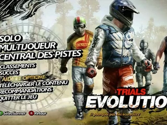 [First Grip] #2 Trials Evolution, jeu Xbox Live Arcade avec gameaktu.com et simplegame.fr