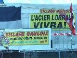 Arcelor-Mittal - Village gaulois à Florange