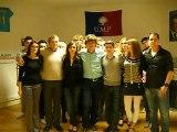 Les Jeunes Populaires de l'Aude adressent un message à Nicolas Sarkozy !