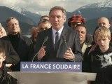 François Bayrou, Discours d'Annecy 200412