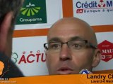 [L2-J33] Laval 2-0 Nantes, réaction de Landry Chauvin