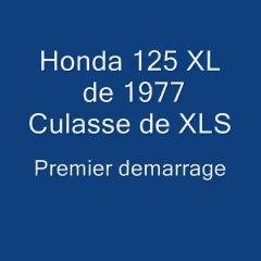 Forum Honda XL: Premier demarrage Honda 125 XL de 77 moteur Hybride