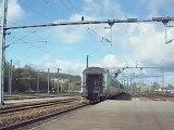 Départ de la BB15051 sur le 3377 à destination de Trouville Deauville à Évreux Normandie
