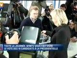 Marine Le Pen a voté dans son fief d'Hénin-Beaumont