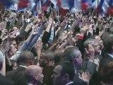 Soirée électorale : Discours de Nicolas Sarkozy à la Mutualité