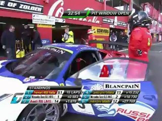 Belgium GT3 - Qualifying Race from Zolder Watch Again | GTWorld 21.4.2012