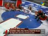 Pronto.com.ar Eugenia Tobal vs notero de Intrusos