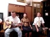 Dmitry Stepanov (acoustic guitar) & Karl White (vocals) - Knockin' on Heaven's Door (SD)