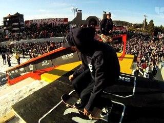 Ride Shakedown 2012, mi-temps skateboard