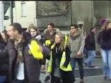 TELETHON 2011 : La boucle de l'ADN à Saint Omer (Pas de Calais - 62)