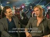 Interview exclu de Chris Hemsworth et Mark Ruffalo - Avengers