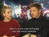 Interview exclu de Scarlett Johansson et Jeremy Rener – Avengers