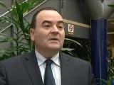 Olivier Henno, Modem, appelle à voter Hollande