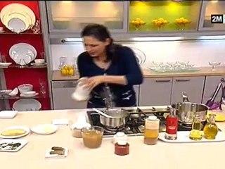 recette de poulet choumicha au four oeuf de caille