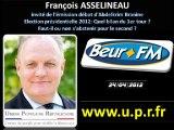 François ASSELINEAU: Invité du Forum Débat de Beur FM - 24 avril 2012