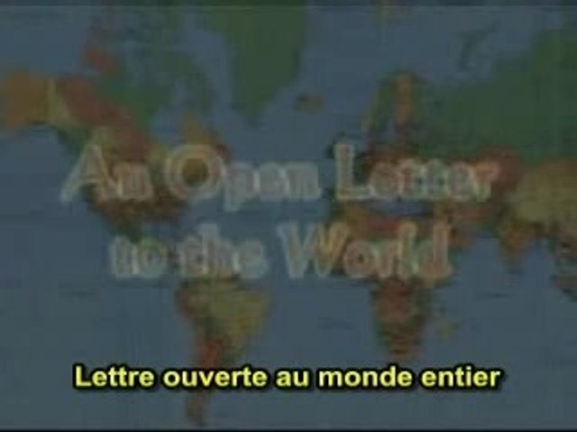 Lettre ouverte au monde entier