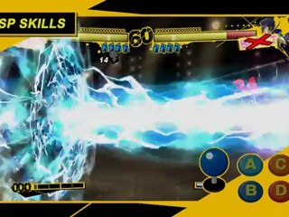 Tutorial #1: Learning the Basics de Persona 4 Arena