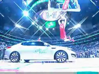 Blake Griffin Jumps Over a Car