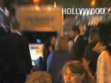 Hillary Rodham Clinton leaving the Time 100 Gala
