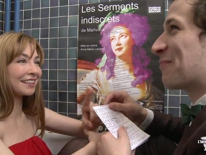 Alix Benezech Nue Groland interview baignoire - alix bénézech