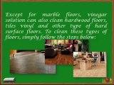 Steps in Cleaning Floors Using Vinegar and White Vinegar for Laminate Floors