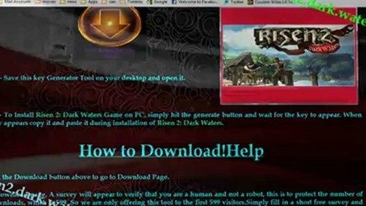 Risen 2: Dark Waters 100% Working Serial Keys