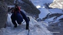 Le Fil à Plomb Aiguilles de Chamonix Mont-Blanc massif