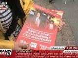 Présidentielles : PS contre UMP au marché de Wazemmes !